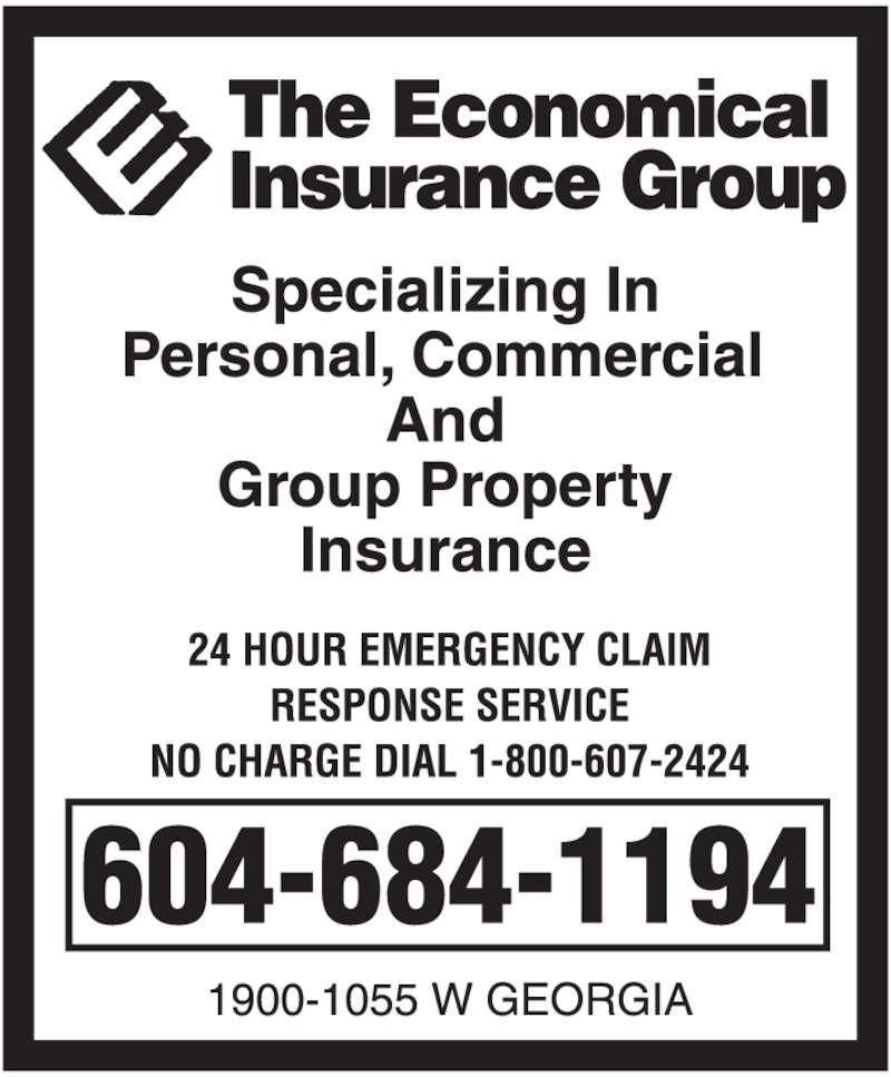 The Economical Insurance Group (604-684-1194) - Display Ad -