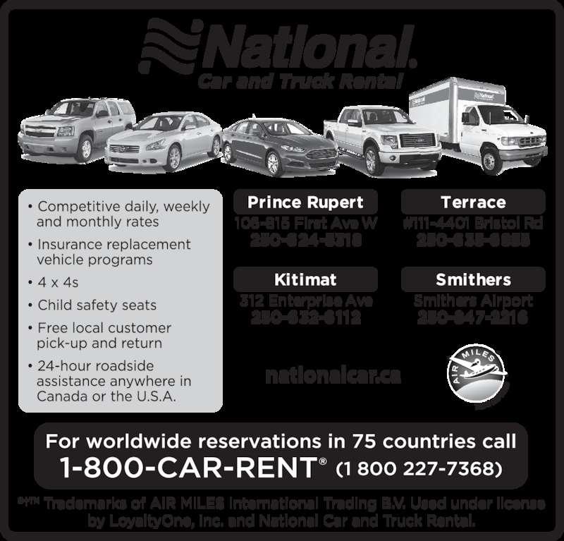 Car Rental Prince Rupert Canada