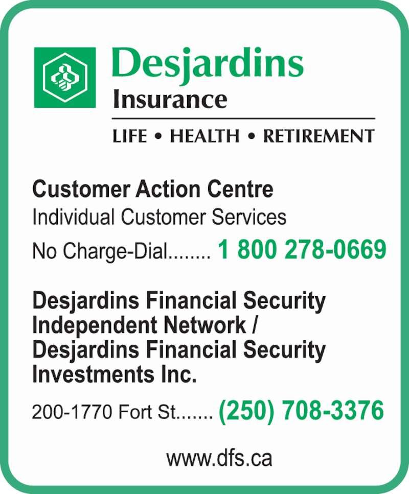 Desjardins financial security toronto address ky