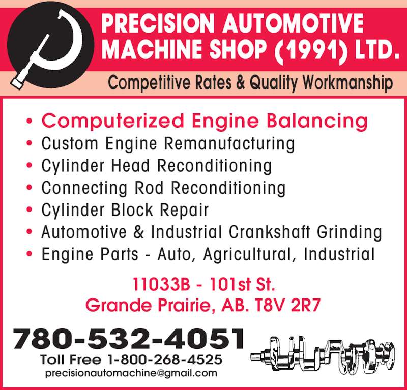 precision automotive machine shop