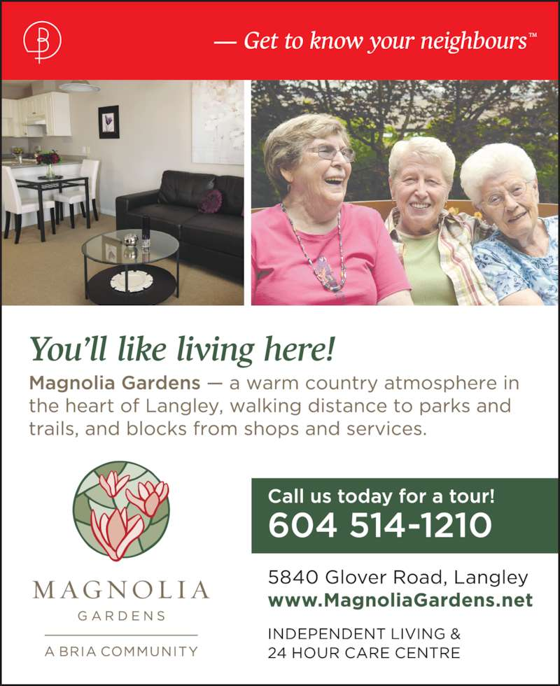 Magnolia Gardens Langley Bc 5840 Glover Rd Canpages