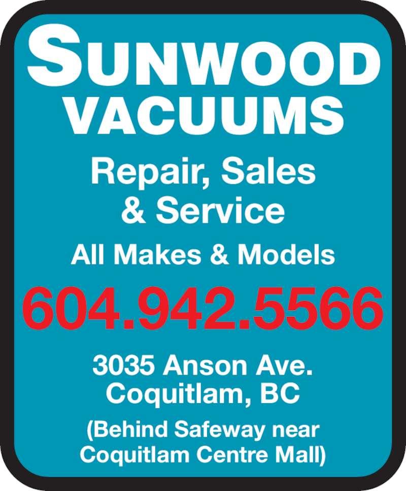Sunwood Vacuum Coquitlam Bc 3035 Anson Ave Canpages