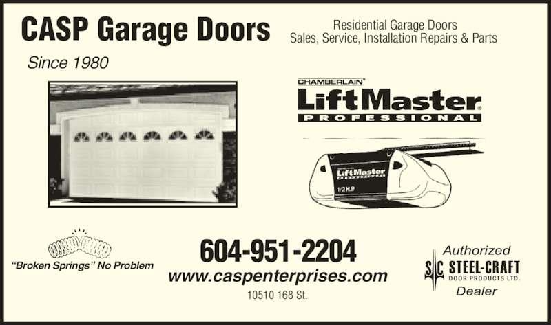 Casp Garage Doors Opening Hours 10510 168 Street