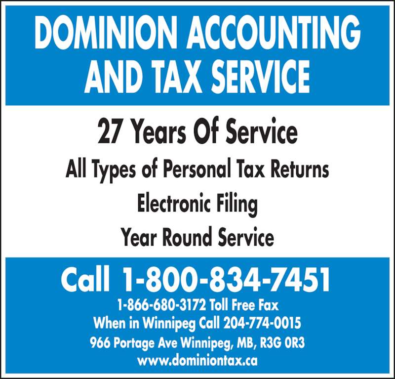 Dominion Accounting And Tax Service