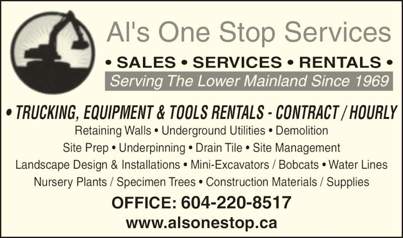 Alu0026#39;s One Stop Services Ltd - Opening Hours - 23971 Thompson Gate, Richmond, BC