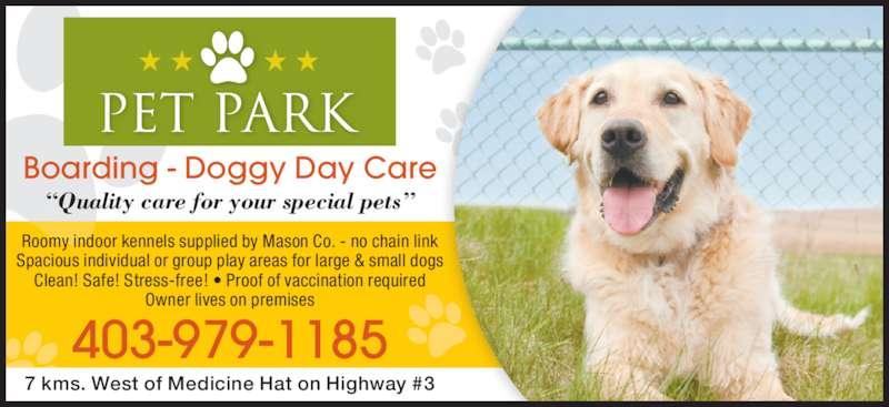 Pet Park 6323 Hwy 3 Medicine Hat Ab