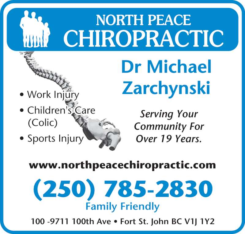 Chiropractic work in writing