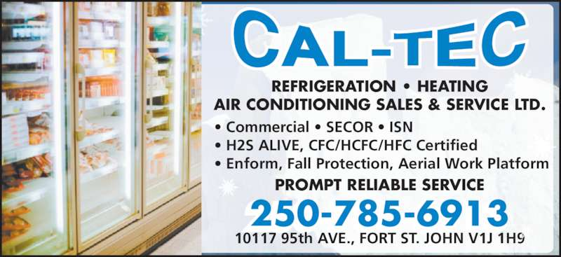 Cal Tec Refrigeration Heating Amp Air Conditioning Sales