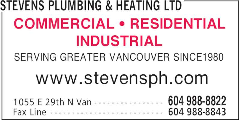 Ads Stevens Plumbing & Heating Ltd