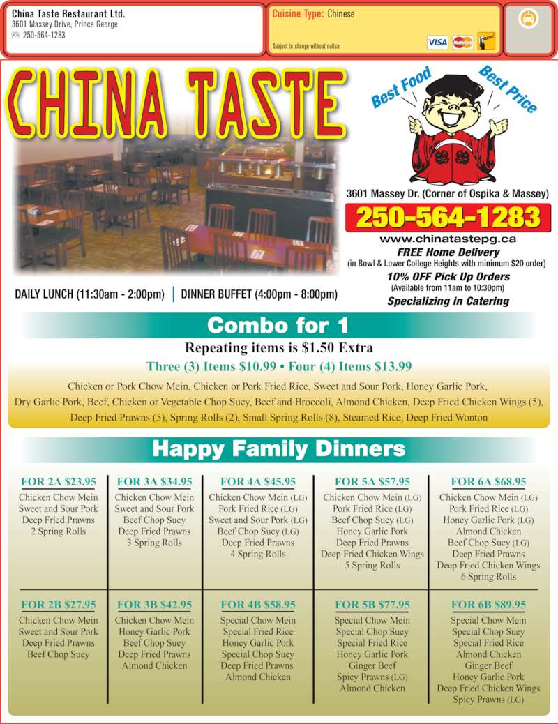 Buffet Restaurants Prince George Bc