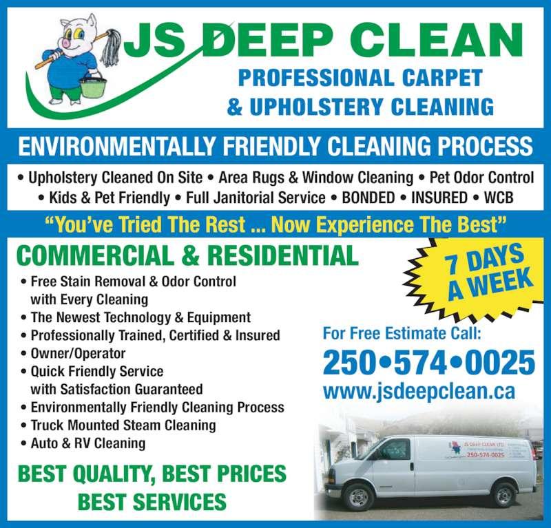 js deep clean 802 ollek st kamloops bc. Black Bedroom Furniture Sets. Home Design Ideas