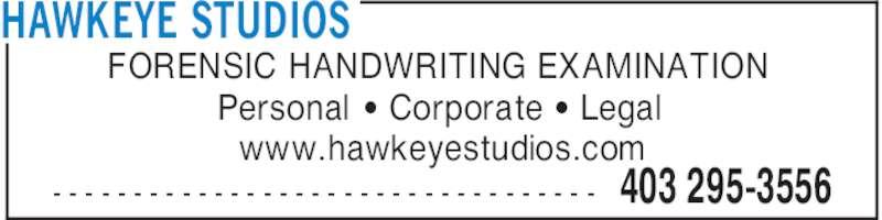 Handwriting Examiner