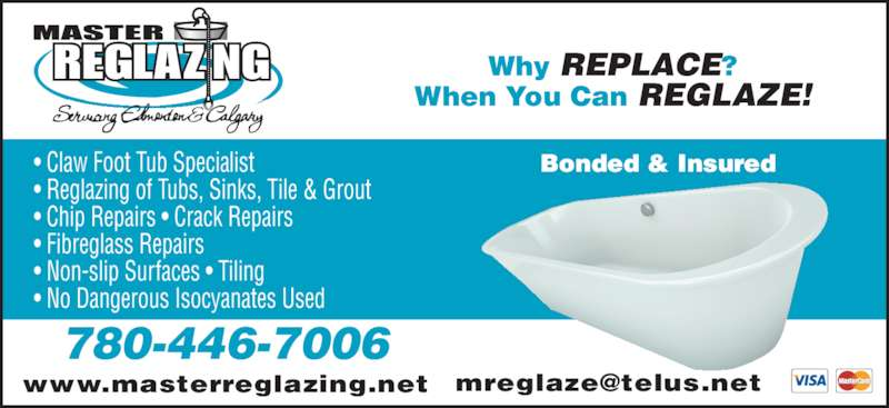 Master Reglazing Opening Hours 14836 116 Ave Nw