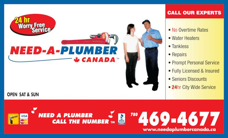 Need A Plumber Canada Edmonton Ab A 3827 98 St Nw