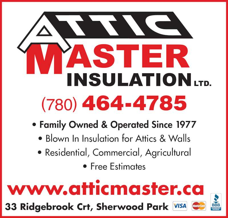 Roofing Contractors Concord Ca Attic Master Insulation Ltd - Sherwood Park, AB - 33 ...