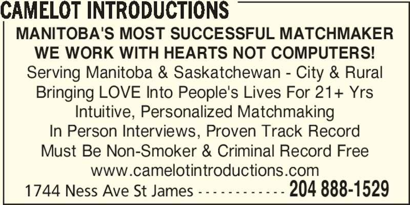 Winnipeg matchmaking services