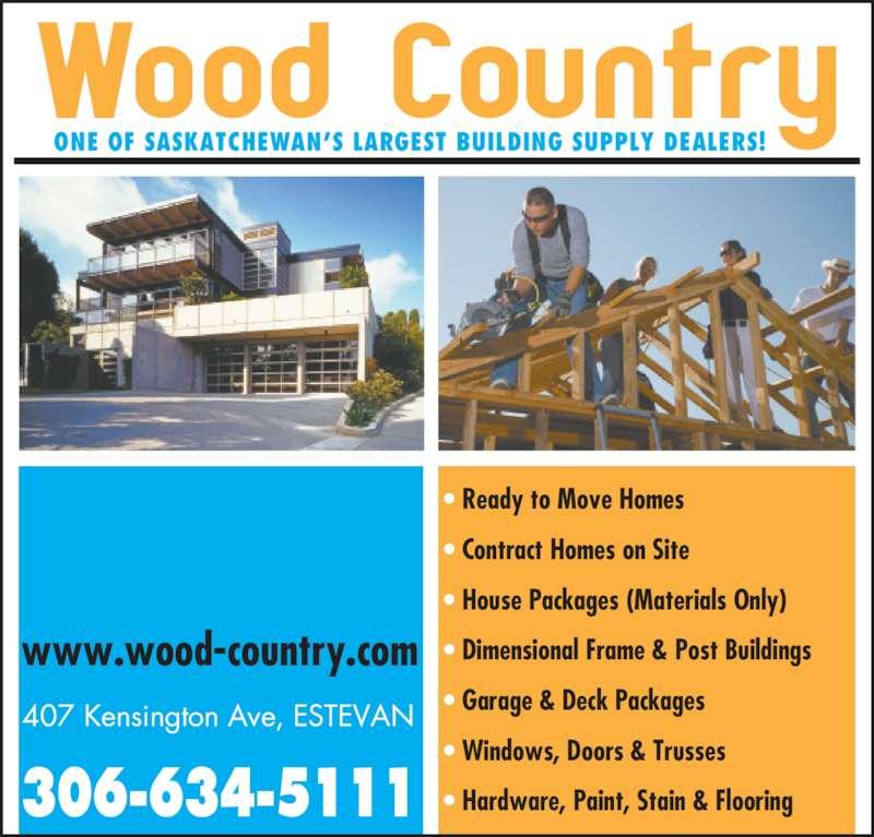 Wood Country Building Services Ltd 407 Kensington Ave