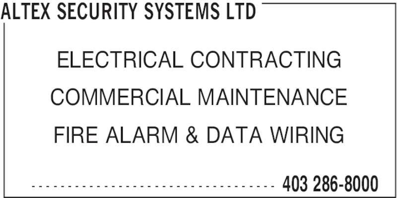 Ads Altex Security Systems Ltd
