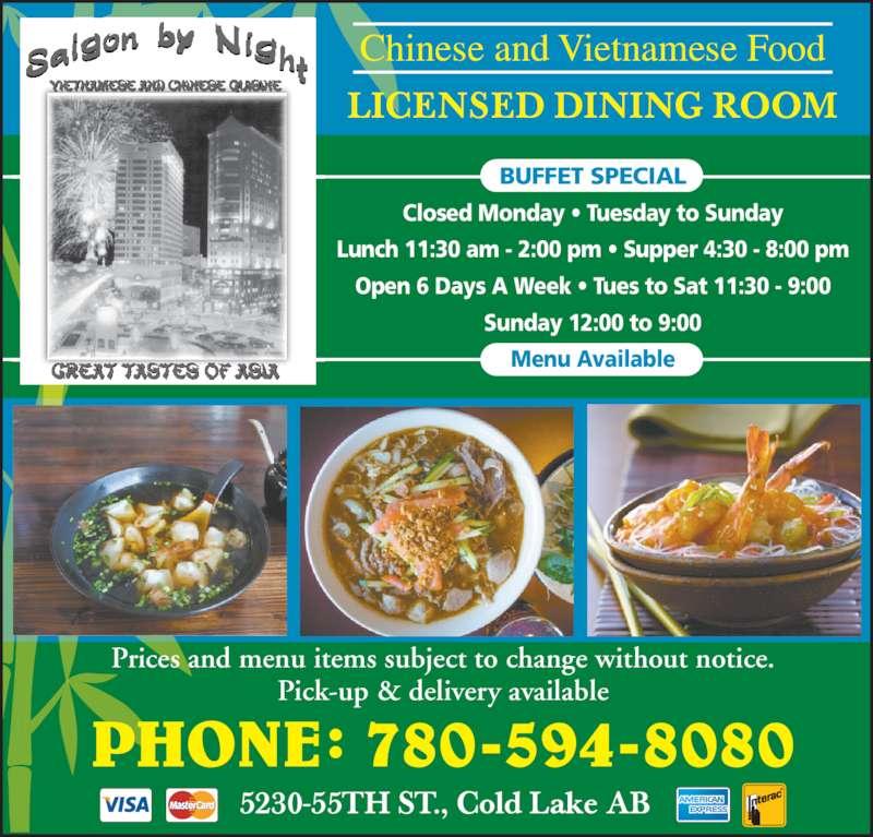 Chinese Restaurants Cold Lake Alberta