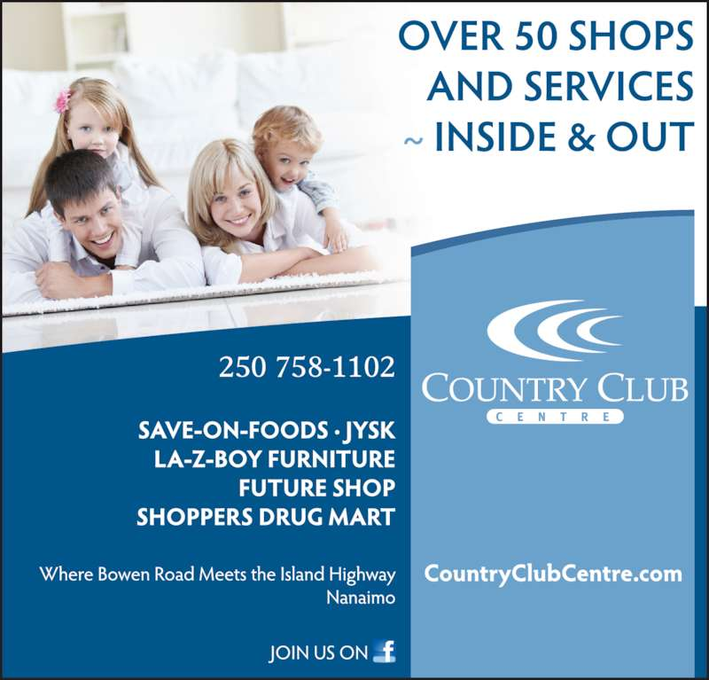 Country Club Centre (250-758-1102) - Display Ad - 250 758-1102