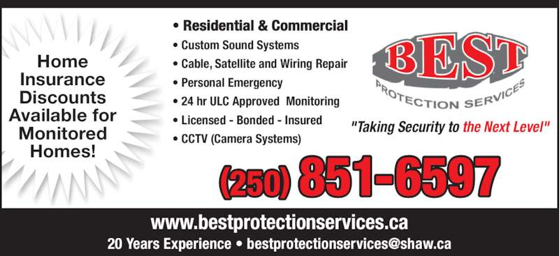 Best Protection Services Opening Hours 2793 Qu 39 Appelle