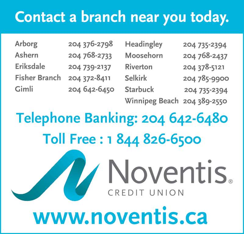 Noventis Credit Union (204-642-6450) - Display Ad -