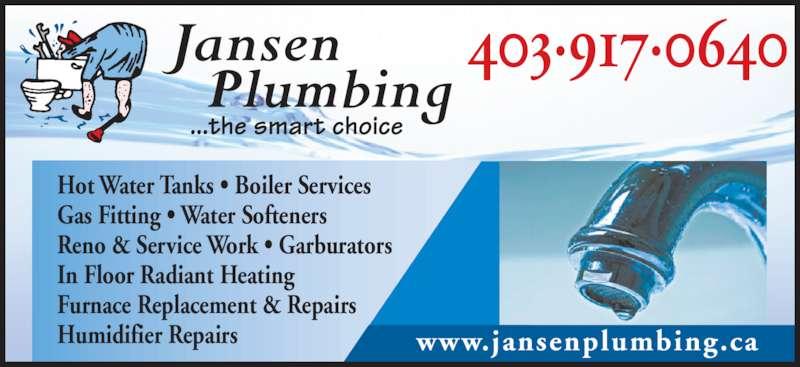 Jansen Plumbing Ltd Opening Hours 394076 Hwy 783