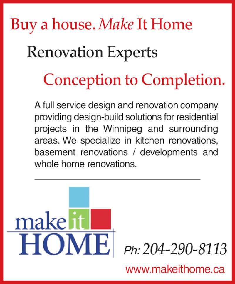 Kitchen Renovation Winnipeg: 71 Ferndale Ave, Winnipeg, MB