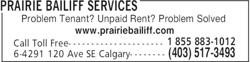 how to become a bailiff in alberta
