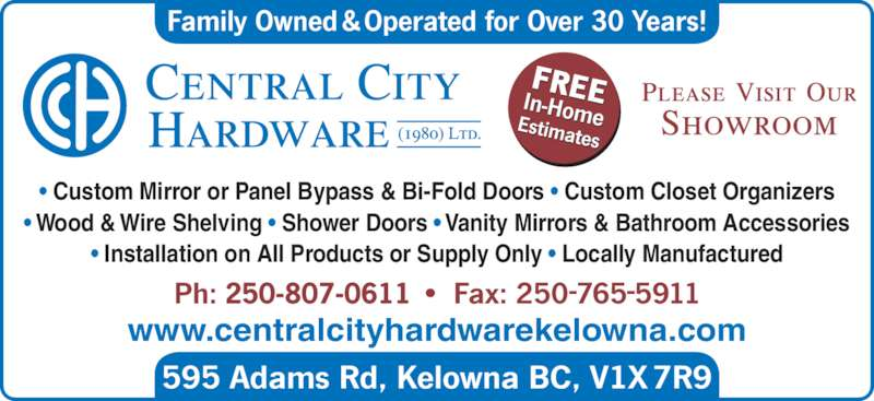 Central City Hardware Canpages