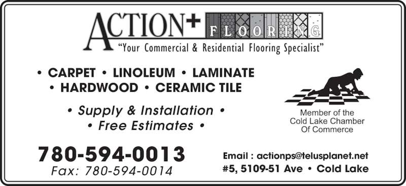 Action Plus Flooring Opening Hours 3614 50 St Cold