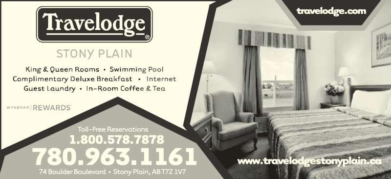 Travelodge (780-963-1161) - Display Ad -