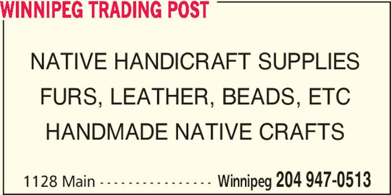 Ads Winnipeg Trading Post