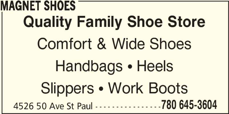 Chic Wide Shoes Store Hours