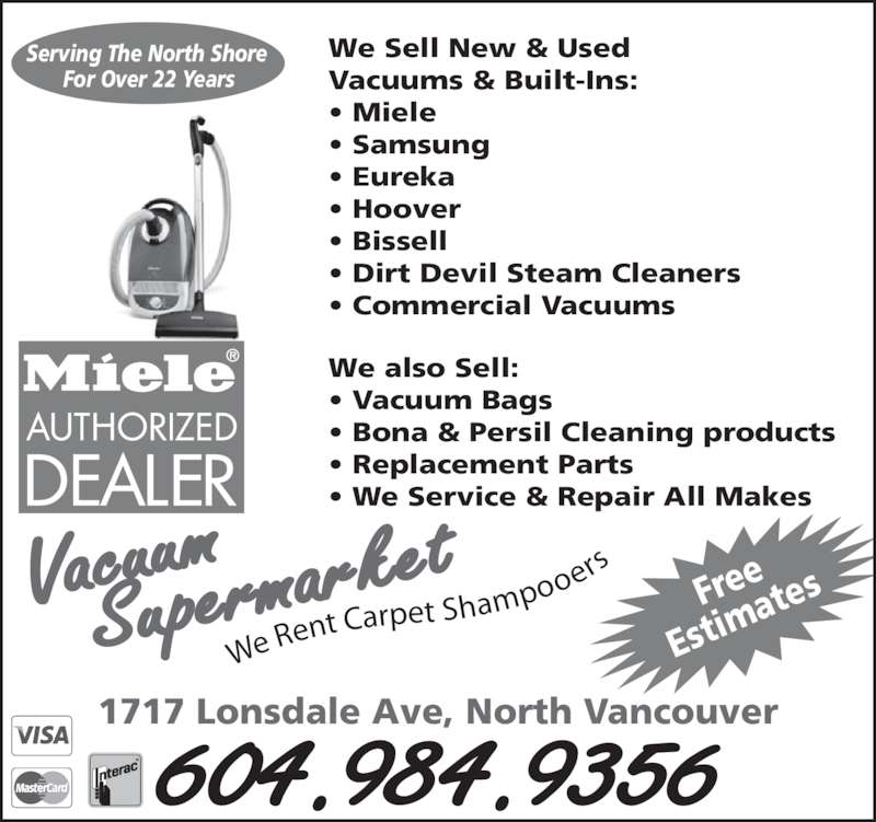 Vacuum Supermarket Opening Hours 1717 Lonsdale Ave