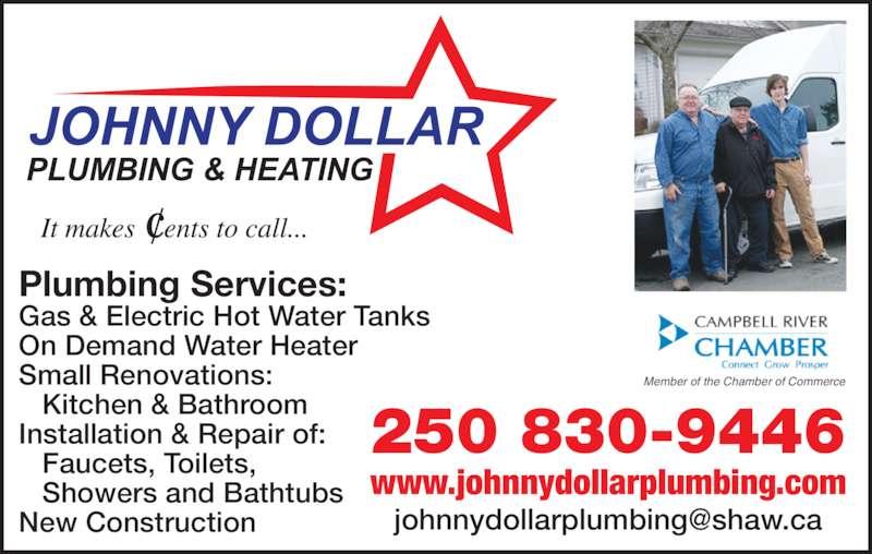 Johnny Dollar Plumbing Amp Heating Opening Hours 673