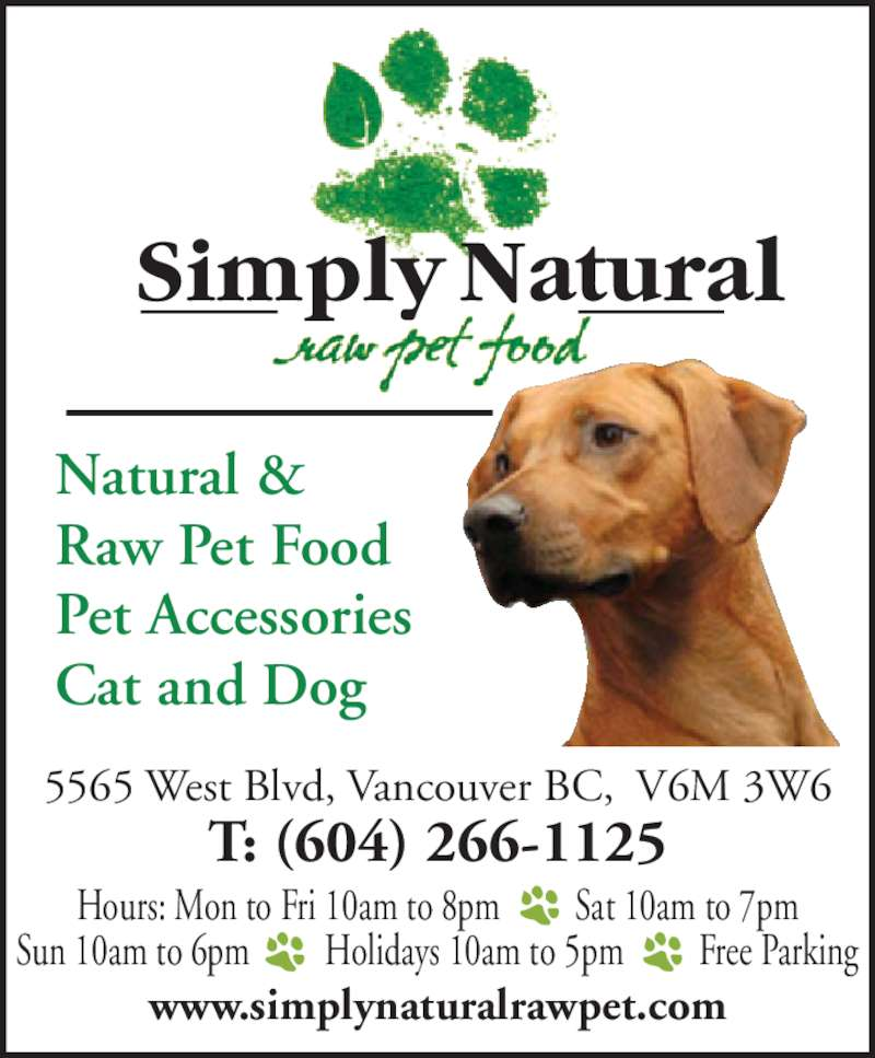 Natural Instincts Dog Food Canada