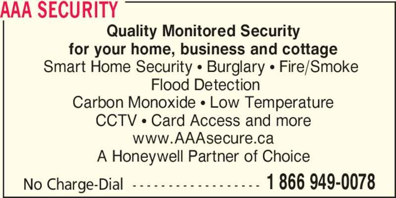 aaa security. Black Bedroom Furniture Sets. Home Design Ideas