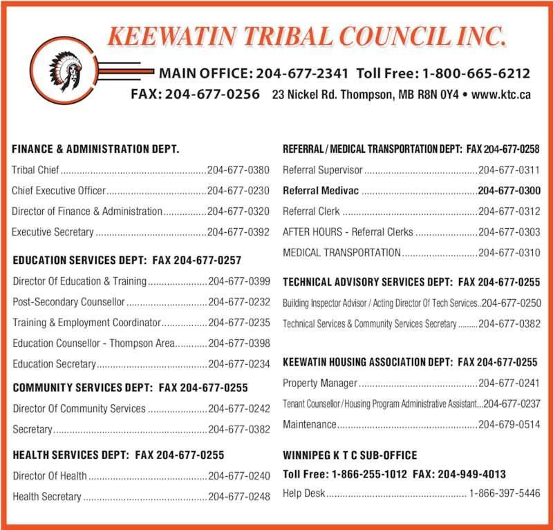 Keewatin Tribal Council Inc