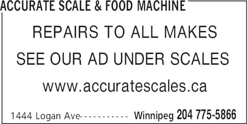 accurate scale food machine