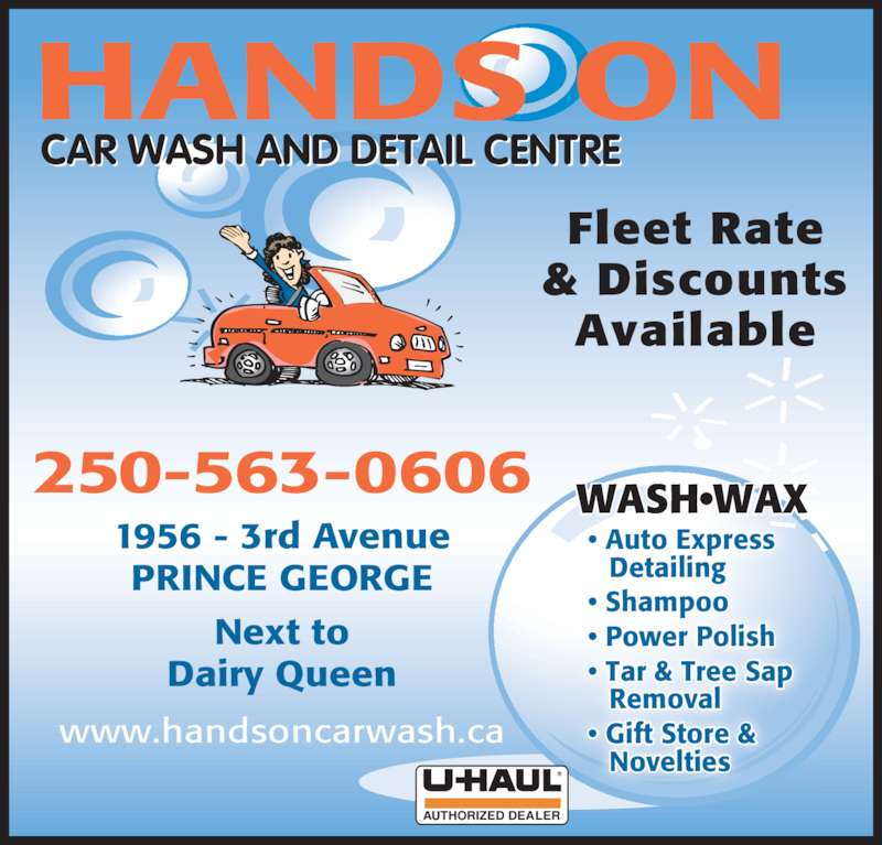 Hands On Car Wash Prince George