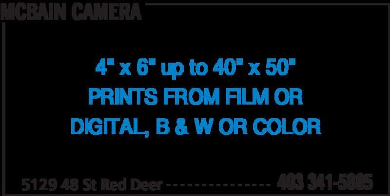 McBain Camera Ltd. (403-341-5885) - Annonce illustrée======= -