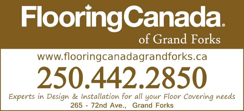 Flooring canada 265 72nd avenue grand forks bc for Columbia flooring canada