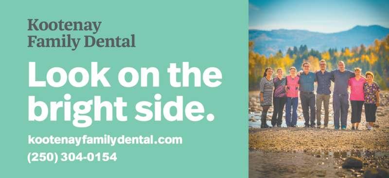 Kootenay Family Dental (250-365-3339) - Display Ad - (250) 304-0154