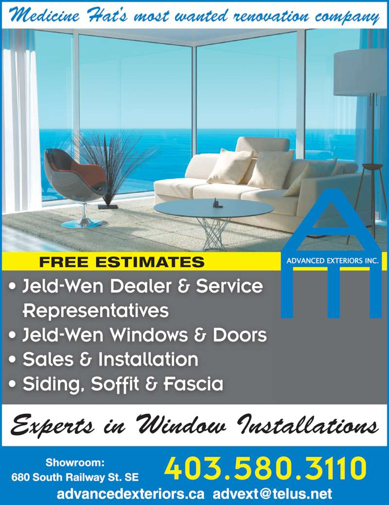 Advanced Exteriors Ltd Opening Hours 680 South Railway