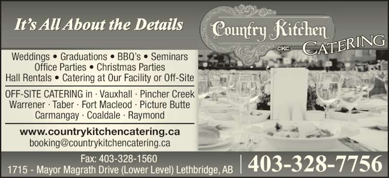 Country Kitchen Catering Lethbridge
