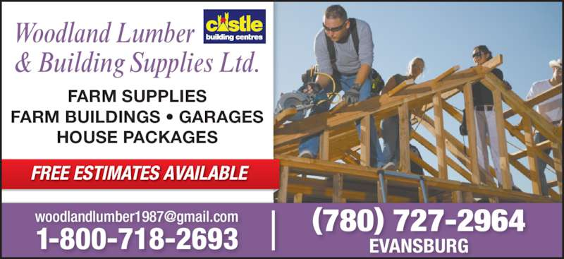 Woodland Lumber Building Supplies Opening Hours