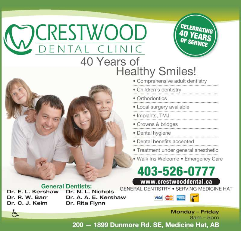 Crestwood Dental Clinic Opening Hours 200 1899 Dunmore