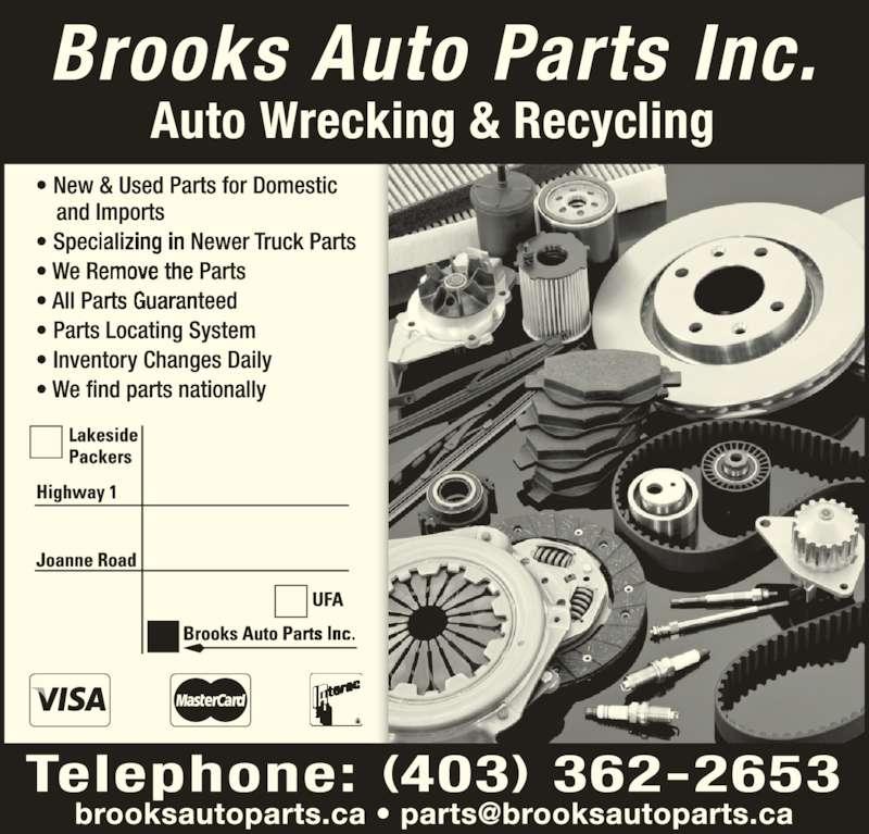 Brooks Auto Parts Inc