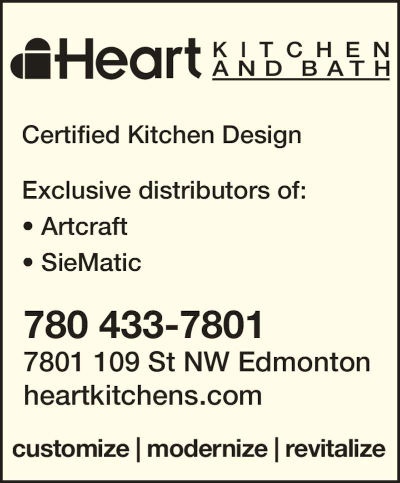 Heart Kitchen Bath Opening Hours 7801 109 St Nw Edmonton Ab
